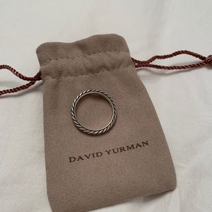 Authentic David Yurman stackable ring